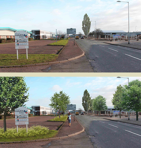 Ideas for streetscape enhancement and tree planting – King's Lynn